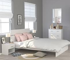 schlafzimmer kombination 4 teilig mit 160 er bett galaxy 126 weiß
