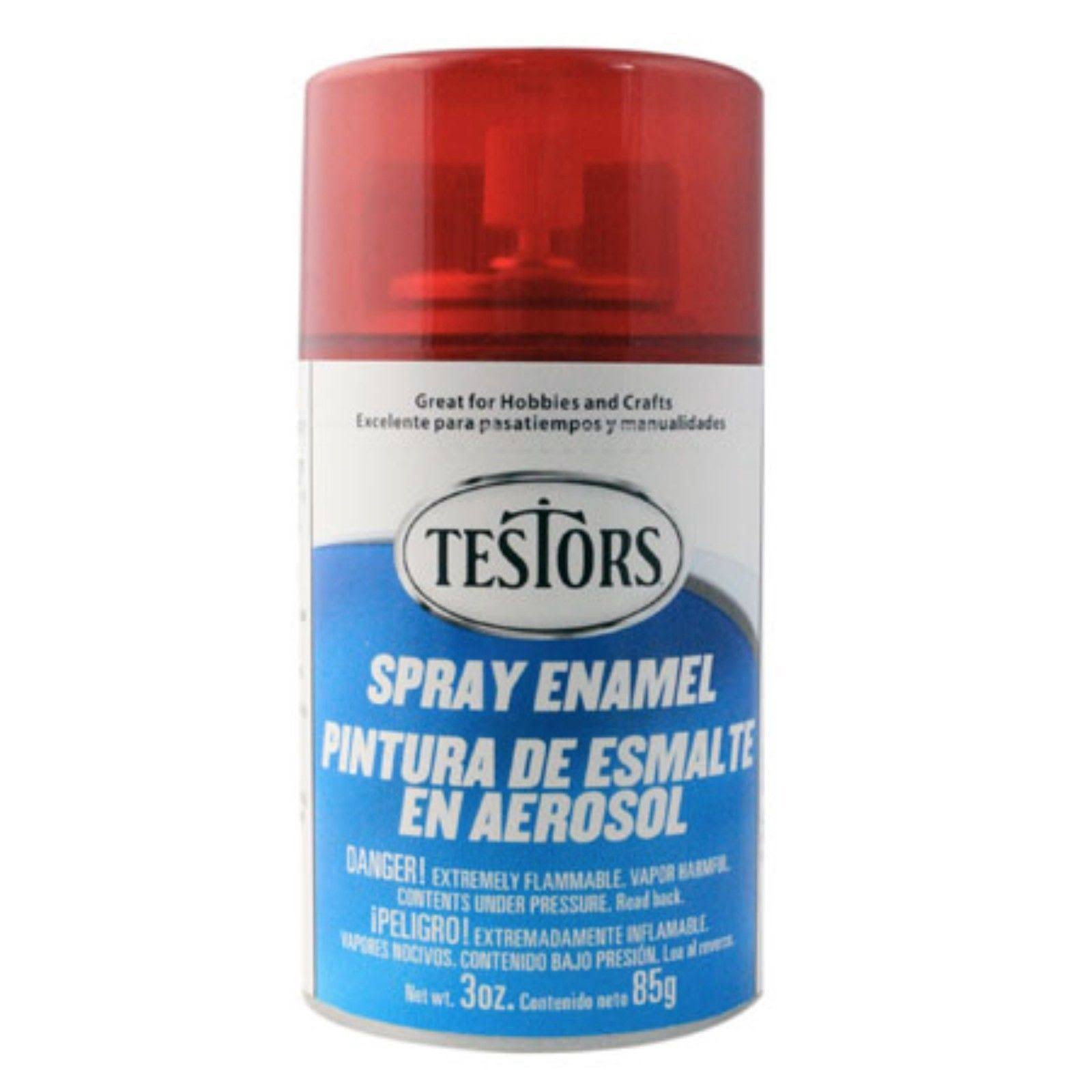 Testors Spray Enamel 3oz - Gloss Candy Red
