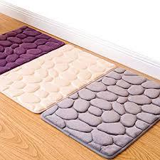 toyofmine boden teppich antirutschmatte pebble dusche