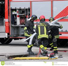 100 Fire Truck Parts Road Accident With FIREMEN Stock Photo Image Of Firemen 54575008