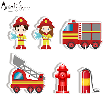 Firefighter Party Decoration Fire Truck Table Centerpiece Kids ... Fireman Wall Sticker Red Fire Engine Decal Boys Nursery Home Firetruck Childrens Wallums Truck Firefighter Vinyl Bedroom Stickerssmuraldecor Really Remarkable Fun Kids Bed Designs And Other Function Amazoncom New Fire Trucks Wall Decals Stickers Firemen Ladder Patent Print Decor Gift Pj Lamp First Responders 5 Solid Wood City New Red Pickup Metal Farmhouse Rustic Decor Vintage Style Fire Truck Ideas And Birthday Decoration Astounding Dalmation Name Crazy Art Remodel Etsy