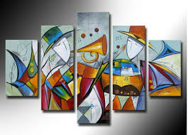 paintings instrument violin modern abstract