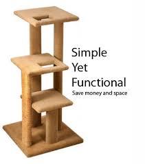 wood simple cat tree pdf plans