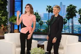 Ellen Degeneres Amy Halloween Horror Nights by Emma Watson Emmawatson Appeared On Ellen Degeneres Show In
