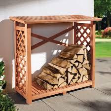 Ideas Outdoor Wood Rack Firewood Storage Rack