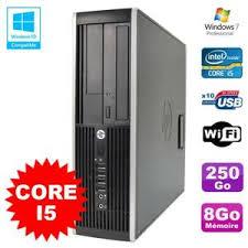 ordinateur de bureau intel i5 ordinateur de bureau hp elite 8200 i5 8go ram achat vente