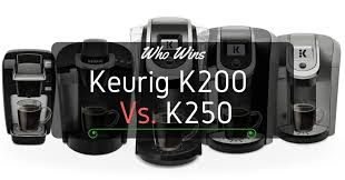 Keurig K200 Vs K250 Which One Carries The Day