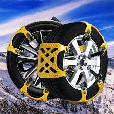 2018 NEWEST VERSION] Snow Chain Snow Tire Chains For Truck/SUV Truck ...