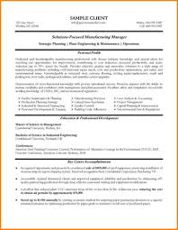 Manufacturing Engineering Resume Examples Picsora Http Templates