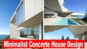 100 Concrete House Designs Amazing Minimalist Design