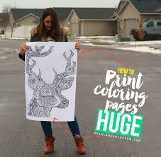 And I Have A SUPER Fun Activity To Do With These Free Coloring Pages HERE How Print