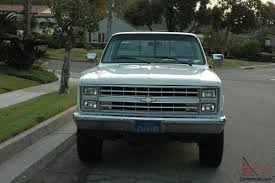 100 1981 Chevy Truck For Sale 1987 Pickup 34 Ton 4x4