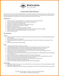 10 Office Cover Letter Executive Assistant Job Description Resume Sample Save