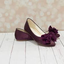 Beautiful Purple Wedding Shoes Flats Styles & Ideas 2018