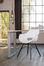 esszimmerstuhl stuhl kunststoff kawola weiß zaja