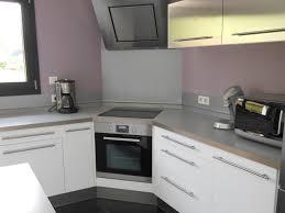cuisine d angle meuble d angle pour four encastrable plaque inox cuisine ikea