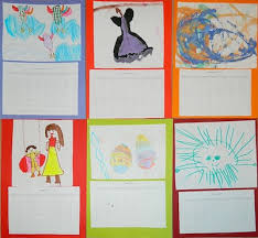 Iva Alex Homemade Childrens Art Calendar