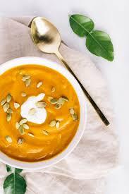 Vitamix Thai Pumpkin Soup lazy thai ginger pumpkin soup with coconut cream