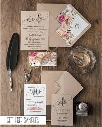 WEDDING INVITATIONS HANDMADE STATIONERY