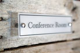 Door Name plate Acrylic Conference Room Sign fice Decor Wall