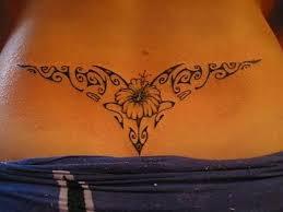 Hd Lower Back Tattoo Butterfly