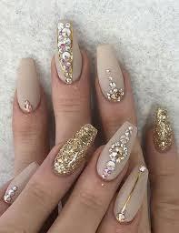 Best 25 Golden nails ideas on Pinterest