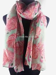 aliexpress com buy flamingo print women u0027s scarf wrap shawl hijab