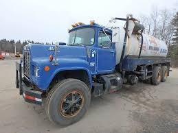 100 Septic Truck 1988 Mack RD688SX Sewer For Sale 320325 Miles
