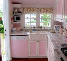 Pink And Blue Kitchen Decor 108 Best Kitchens Images On Pinterest Vintage Small