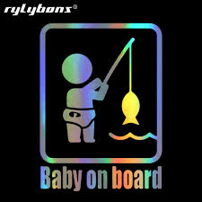 Rylybons Baby Fishing Car Bumper Stickers And Decals Car Styling ... Car Stylings Hunting Fishing Stickers 1514cm And Amazoncom Bass Fishing Spinner Bait Window Vinyl Decal Sticker Large Under Armour Fish Hook Vinyl Decal Sticker For Zebco Sheet 9 Crashdaddy Racing Decals Awesome Trucks Northstarpilatescom Philippines Web Cam Funny Bumper Stickersand 2018 25414cm Reflective Skull Skeleton Keeping It Reel Vehicles Laptop And Best Truck Resource Bass Silhouette At Getdrawingscom Free Personal Use Respect The Freak Fishing Decal North 49