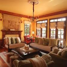 Rustic Yellow Living Room