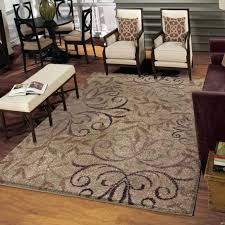 7 X 9 Rugs Weavers Grand Comfort Collection Beige Area Rug Intended For Chic Lowes