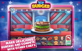 jeux de cuisine burger restaurant top burger chef jeux de cuisine hamburger applications android