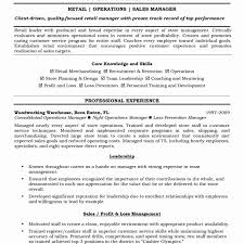 Sample Resume For Bank Branch Operations Manager Unique Templatesperation Format Forperations