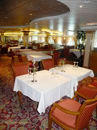 RESTAURANT MENU MAIN DINING ROOMS Provence Dining Room Bordeaux On Island Princess