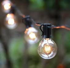g40 globe string lights with 25 bulbs ul listed for indoor outdoor
