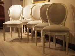 chaise de style six chaises médaillon de style louis xvi paul bert serpette
