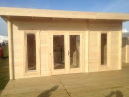 bureau de jardin prix maison de jardin avec ossature bois 25 m 25 m 7899 ttc