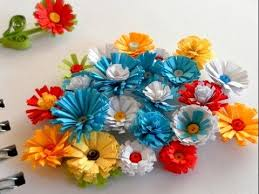 DIY Paper Crafts How To Make FLOWERS