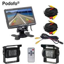 Podofo 2 X Backup Camera 18 IR LED Night Vision Waterproof Rearview ... Vehicle Monitoring Backup Camera High Definition Waterproof Anti Amazoncom Wireless System Ip69k Podofo 12v 24v Car Rear View Kit 7 Tft Lcd For Bmw 328i Best Truck Resource Aftermarket Cameras For Cars Or Trucks In 2016 Blog Hardwired Backup Camera 1960 Airstream Ambassador 5 Inch Gps Parking Sensor Monitor Rv F1blemordf2tailgatecameraf350 Cosmic Optix Premium Weather Proof License Ecco And Echomaster Inlad Van Company