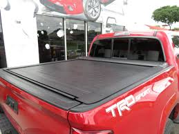100 Truck Bed Bars 2017 Toyota Tacoma LEER Ricochet Black Out Nerf TopperKING