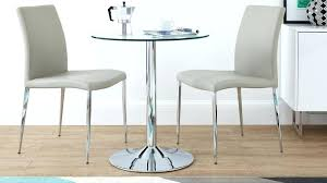 Two Seater Dining Tables Glass And Chrome Table 4 Olx