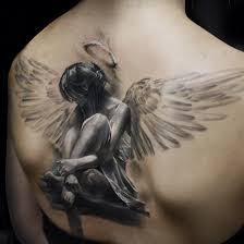 Angel Back Tattoo