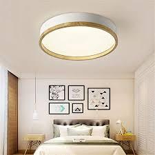 jinwell holz deckenleuchte weiß runde schlafzimmer le wohnzimmer le moderne minimalistische massivholz schlafzimmer deckenleuchte led runde