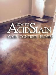 best 25 acid stain concrete ideas on pinterest acid stained