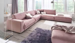 sofatrend pastell rosige aussichten für ihr wohnzimmer flamme