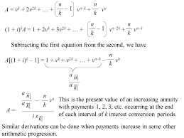 Sinking Fund Formula Derivation by Consider Annuities Payable Less Frequently Than Interest Is
