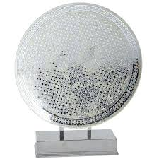Pier 1 Mosaic Floor Lamp by White U0026 Silver Decorative Mosaic Platter With Stan Pier 1 Imports