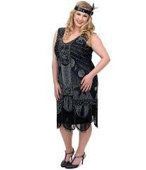 plus size flapper dress kapres molene