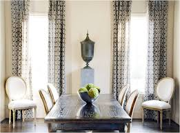 Dining Room Curtain Decorating Ideas Decor And Throughout Elegant Drapery